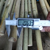 artificial dry raw bamboo poles hot wholesale from chinese factory
