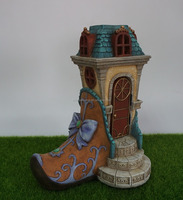 Hot sale fairy shoes house for fairy garden