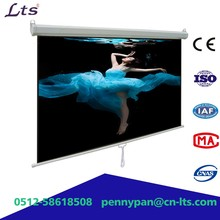 manual projection screen projector screen pull down wall screen