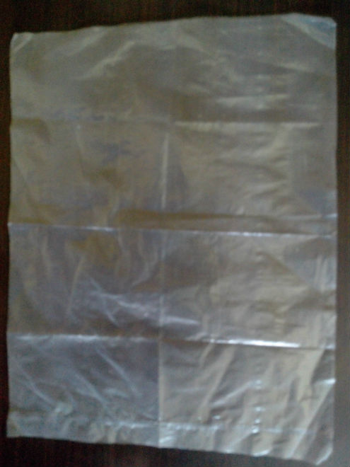 HDPE Plain Poly Bag