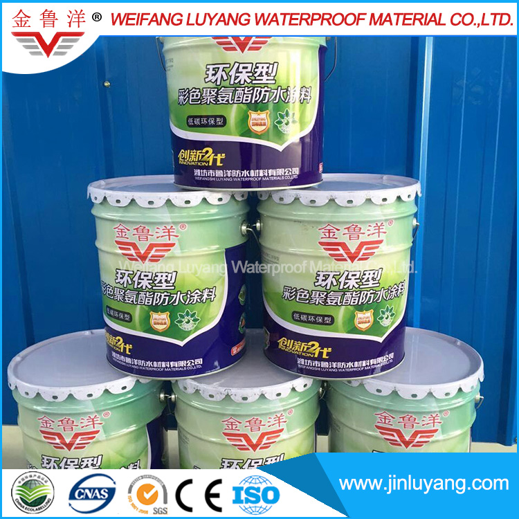 Oil-based Single Component Polyurethane Waterproofing Coating