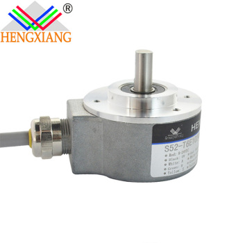 52mm optical encoder industrial line equipment cable out with socket