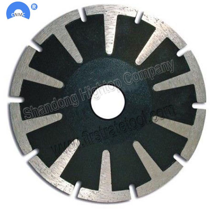 "5"" 125mm Convex Diamond Saw Blade for cutting granite and marble"