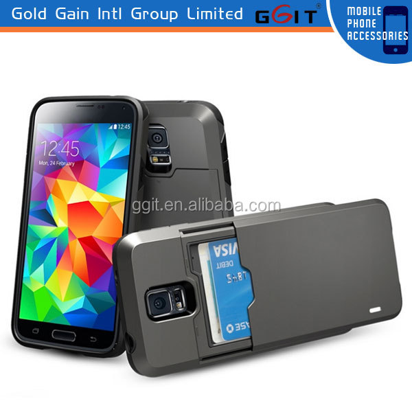 Hot Sell For iPhone 6 Case With ID Credit Card Slot Stand