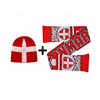 2018 Denmark world cup Hat Scarf Winter Warmers Gift Set
