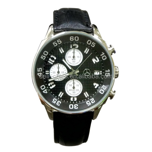 Shenzhen Factory OEM Stainless Steel Chronograph Puma Watches Men