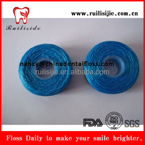 Dental floss products dental floss spool two color line