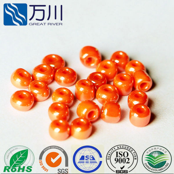 glass bead loose glass pearls wholesales
