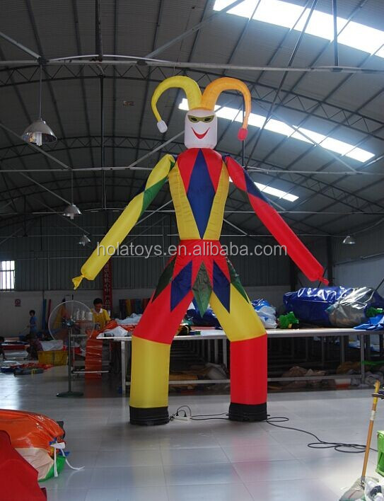 dancing inflatable advertising man/inflatable air dancer