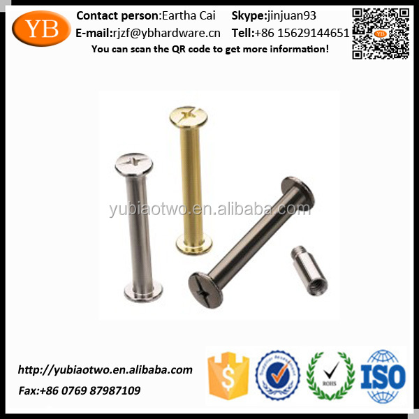 Low Carbon Steel Drywall Ball Screw with Anodizing for Fruniture