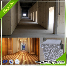 Eps cement wall panel prefabricated modular restaurant building / residential houses