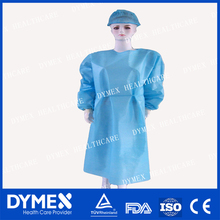 Doctor uniform Operation Sterilized Clothes medical surgical gown with sleeve white surgical gown with cap