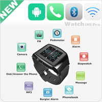 China 1.55 inch smart talk watch mobile watch with camera bluetooth FM sim slot GSM smart phone