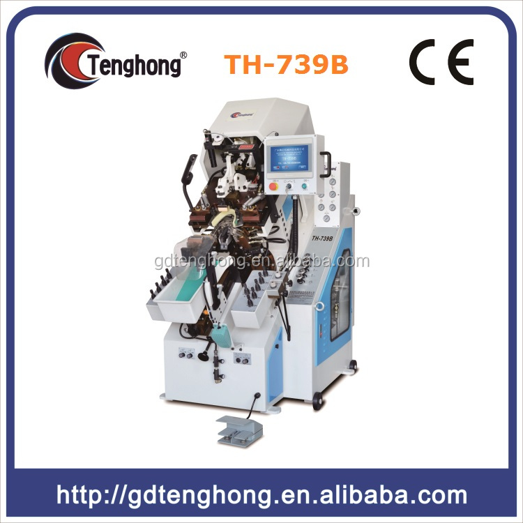 7 Pincers Computerized Memory Control Automatic Shoe Toe Lasting Machine