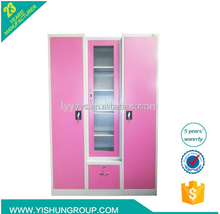 bedroom godrej steel furniture collapsible wardrobe cabinet for philippines
