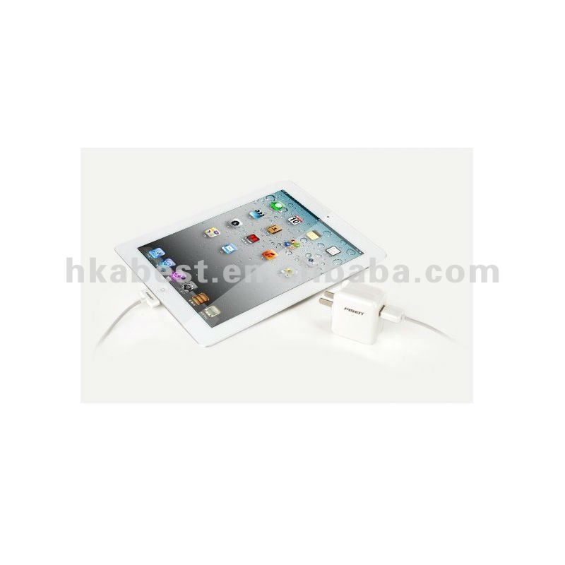 High Quality Chargers For iPad With USB Data---white color