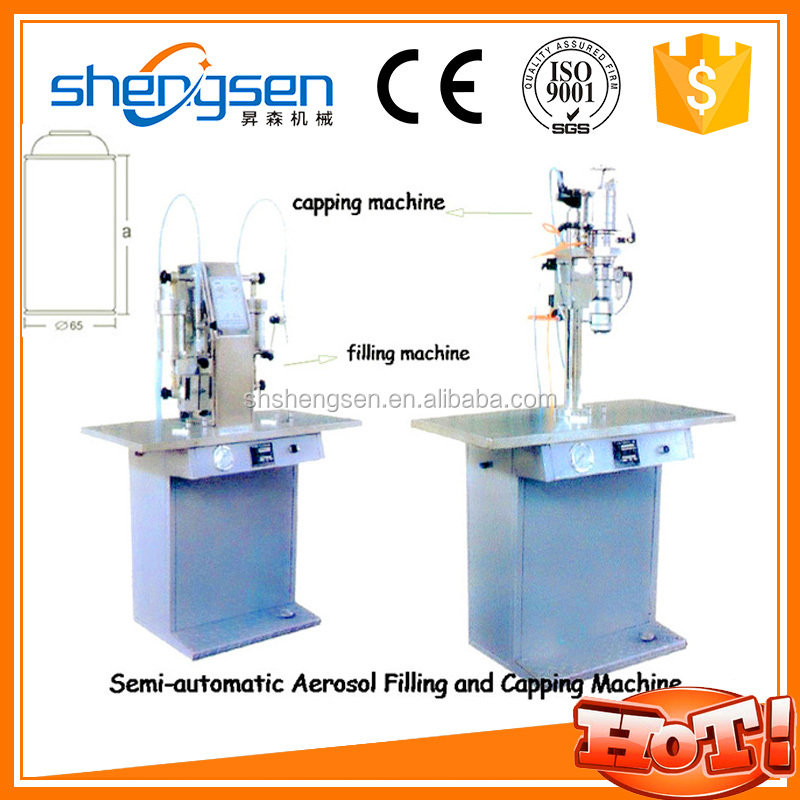 aerosol filling machine price