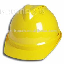 Lightweight material helmet for construction workers