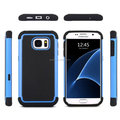 Have Stock flip cover case for samsung galaxy s7 ,2 layer Armor rugged hybrid hard case for samsung galaxy S7 S6 Edge Plus