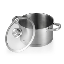 18/10 Stainless Steel Buffet Stock Restaurant Casserole Soup Pot