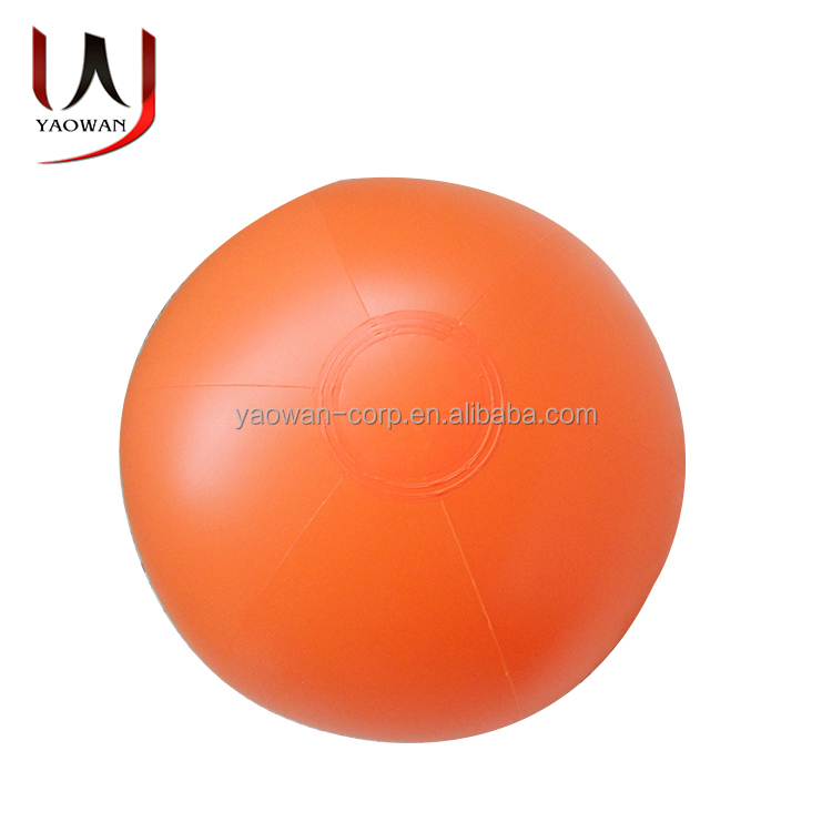 customized inflatable toys orange beach ball