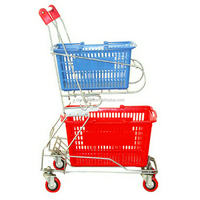 Manufacturer supply two wheels hand trolleys import from china