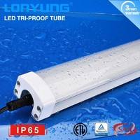 ETL DLC Listed IP65 Vapor Proof Low Bay LED Tri-proof Light fixture