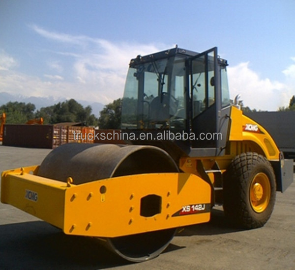 XS142J XCMG 14tons Single Drum Road Roller