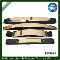 Fashion Design Gold Metal Waist Belt