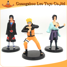 Factory Customized Action Cartoon Characters Naruto Small Figure