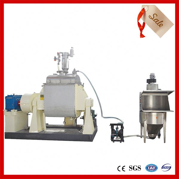 machine for tubeless liquid tire sealant