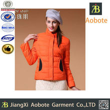 Italy Style Customized Outdoor Sex Woman Winter Clothes