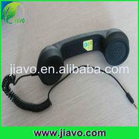 Radiation-proo fretro handset holder for telephone with OEM logo and box
