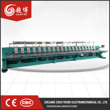 New high speed flat automatic embroidery machine 20 head