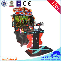 2015 new shooting simulator gun shooting game machine