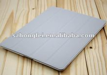anti-dust tablet case for Apple iPad2 Case,Foldable Standing leather case cover for ipad 2/3/4