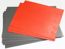 Wholesale A4 Size Laser Engraving Rubber Sheet for Stamp, stamp rubber 2.3 mm