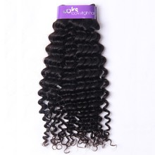 Loks hair afro 7A Brazilian hair extensions Kinky Curly human hair weave