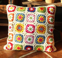 100%cotton embroidery cushion cover