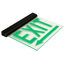 LED Rechargeable Emergency Exit Light with Acrylic Sign Board