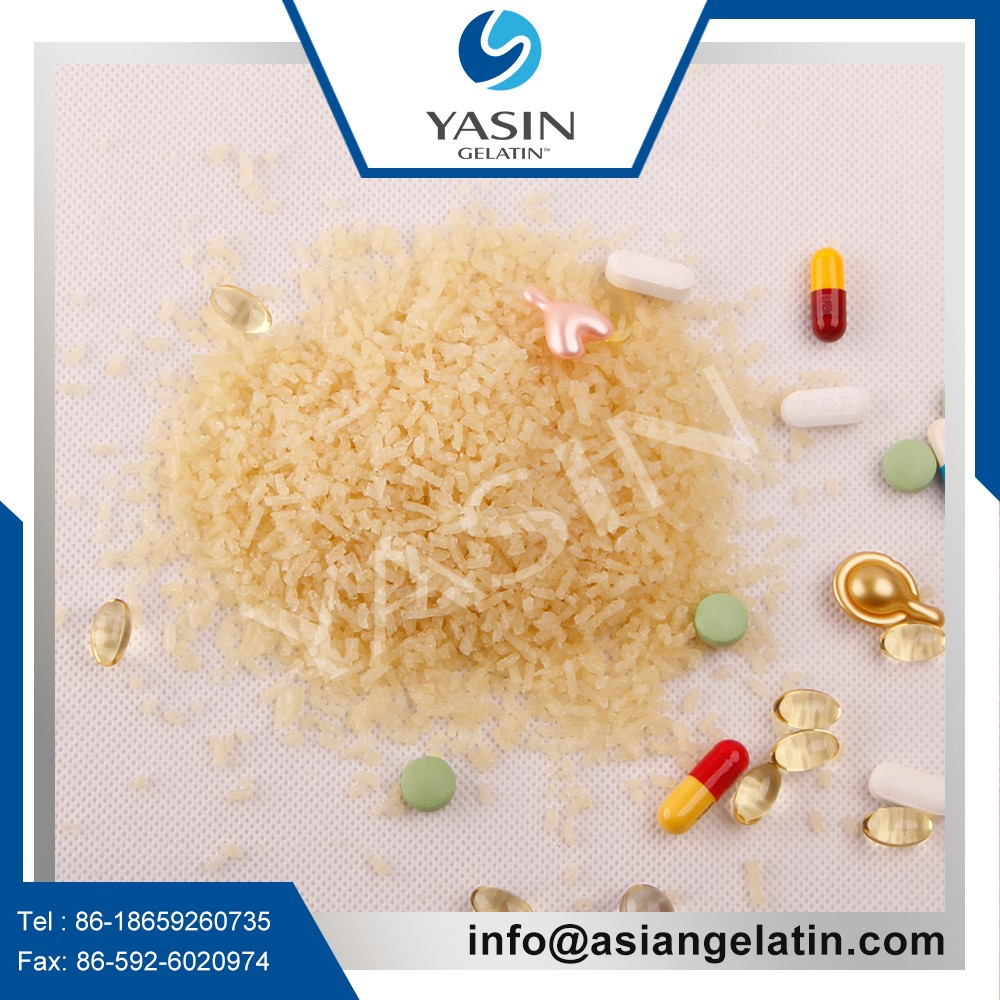 95% Purity Gelatin Pharmaceutical Grade