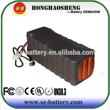 High quality electric bicycle triangle bag li-ion battery 48v 20ah electric bicycle battery pack