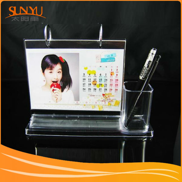 Professional custom design pop clear acrylic photo frame insert