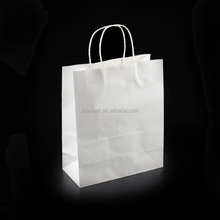 203*123*255mm Factory professional custom made medium size paper gift bag for promotion