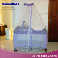 Manufacturer wholesale baby playpen 2015 new design folding baby travel cot