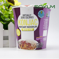 Healthy instant cup noodles/cooked noodles /low cal shirataki noodles
