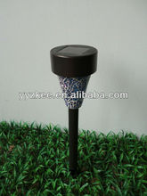 Solar outdoor garden lights / led lamp plastic mosaic interpolation