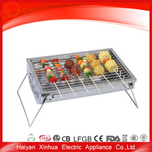 Foldable square outdoor eco bbq united professional grill