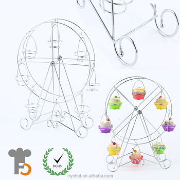 Stocked,Eco-Friendly Feature and Stands Cake Tools Type cup cake stand