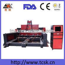 Large format wood cnc router with vacuum table and dust collection